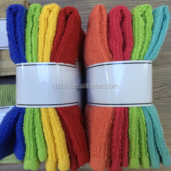 fashion dish washing cloth kitchen towel surplus stock