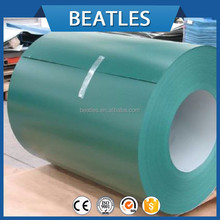 Prime PPGI prepainted hot dipped galvanized steel coil for corrugated steel roofing tile