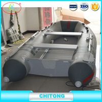 Cheap Price Inflatable Rowing Boat With Outboard Motor
