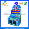 Popular coin operated simulator funny fish lotteries ticket game machine