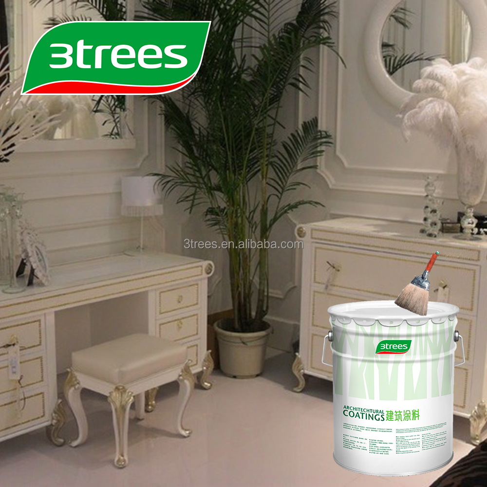 3TREES Archaistic white pearl wood coating (sealer)