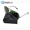 Trendy design pocket folding sunglasses with PU case