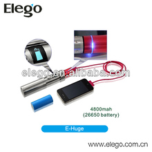 Latest Power Bank Ecig Variable Voltage KSD E-huge Vamo Mod 26650 Mod E-huge Mod 4800mah
