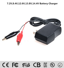 New Hot 12V 1250mA Volt Sealed Lead Acid Rechargeable Battery Charger For Car Motor Truck 100V-240V