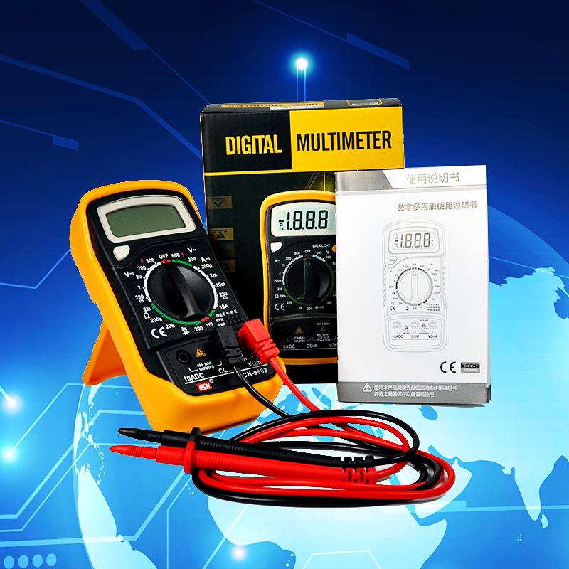 China Low price high quality multimetro MCH-9883 pocket Digital multimeter