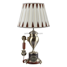 wholesale home decor accessories living room antique copper table lamp