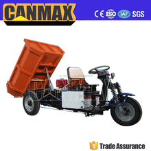 Popular battery cargo tricycle with hydraulic system/high quality three wheels tricycle electrique