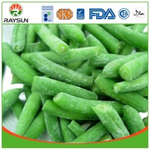 Frozen green beans IQF vegetables
