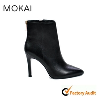 MK006-1 Boot women beautiful elegant high heel sexy women shoes women leather boots
