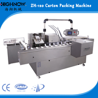 Automatic Pillow Bag Cartoning Packing Machine, Medicial Cartoners for Pillow Bag