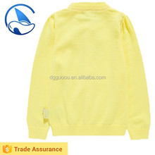 Yellow Cardigan Kids Sweaters