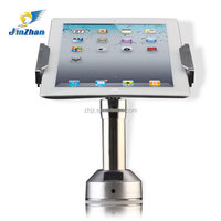 2015 adjustable tablet lock,anti-theft secure stand for ipad, android tablet counter stand