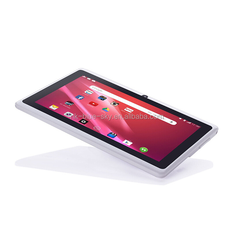 "7 inch online shop tablets 7"" Tablet PC Android 4.42 Google A33 Quad Core 8GB WiFi double Camera 7 Inch Q8 Q88 Tablets PC"