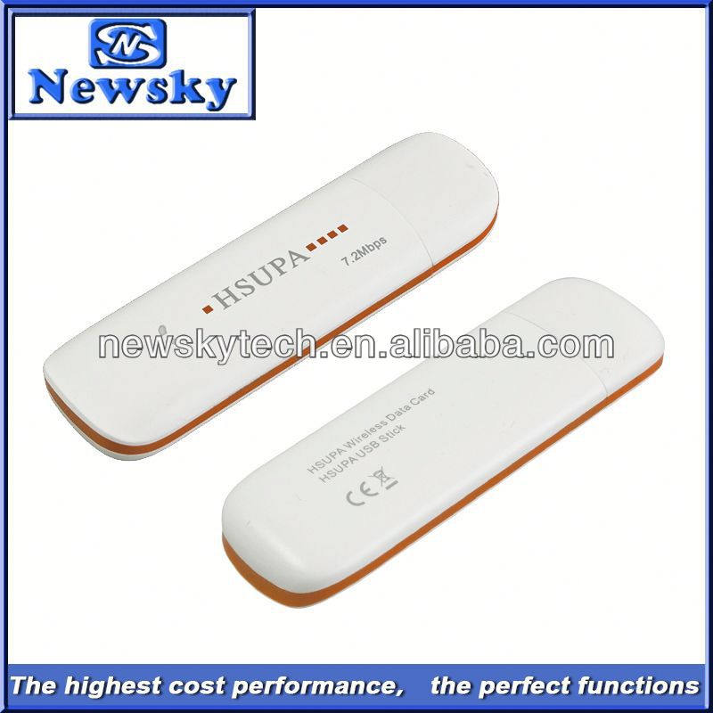 7.2Mbps umts hsupa best price hsdpa modem 3g data card with sim card slot