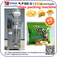 2017 On Sale Shanghai Low price potato chips packaging machine approved CE