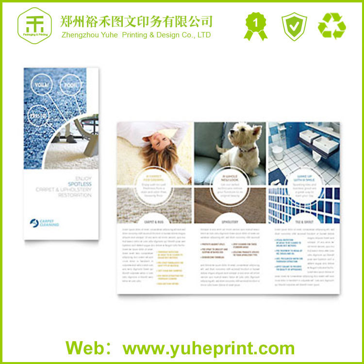 58g offset paper matte glossy lamination printing full color mini flyer smile face