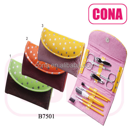 Personal Cosmetic Manicure Makeup Brushes Set