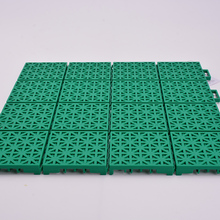 Interlocking polypropylene sheet portable badminton court flooring plastic floor tiles