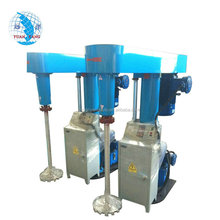 Most demanded products 15 KW 500-1000L hydraulic lifting high speed wall paint disperser
