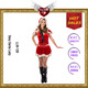 OEM Service Supplyment Female Christmas Holiday Sexy Santa Costumes