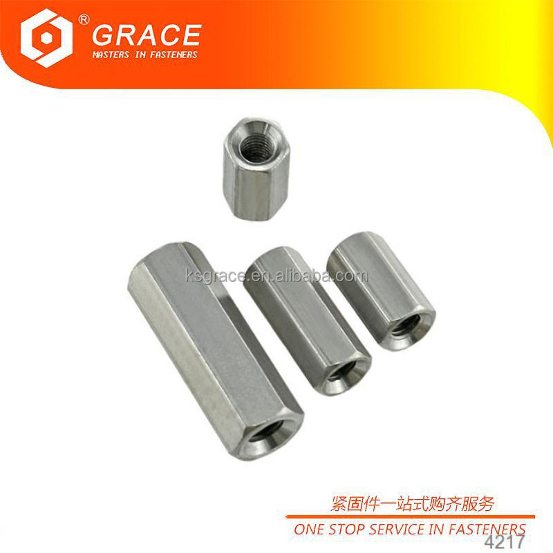 ODM Metric Hex Connecting Nut Corrosion Resistant For Industrial Equipment