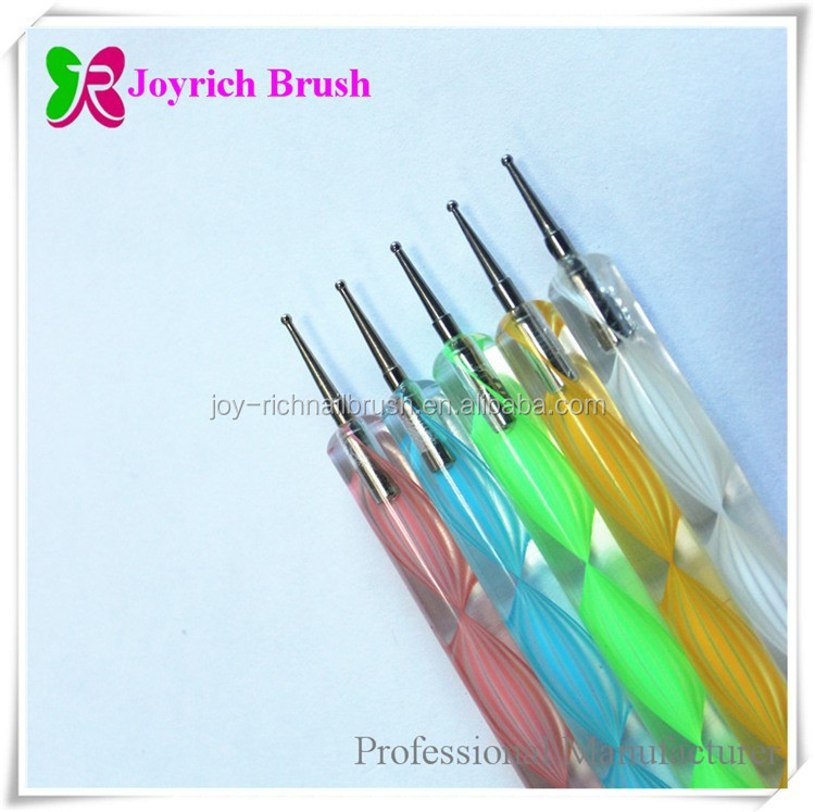 Professional Nail Art Tool Manufacturer 5pcs Point Drill Pen