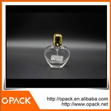 Wholesale high quality 30ml heart shaped glass perfume bottle factory