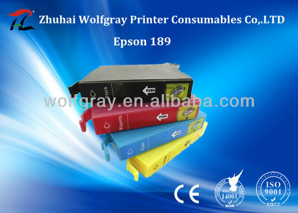 Wholesale inkjet cartridges 189 for Epson inkjet cartridges