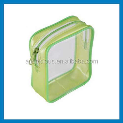 top grade plastic blanket pvc bag with zipper