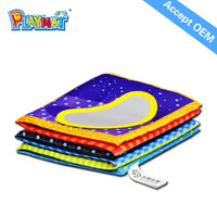 2015 New product Early childhood educational toys educational preschool fabric cloth books Accepted OEM