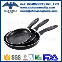 8 inch aluminium kitchenware with nonstick forged