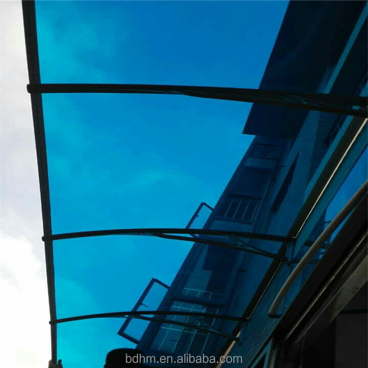 Outdoor diy awning canopy for windows polycarbonate