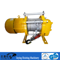 1 Ton KCD Series Electric Winch with Motorized Trolley for Wrecker and Garbage Truck