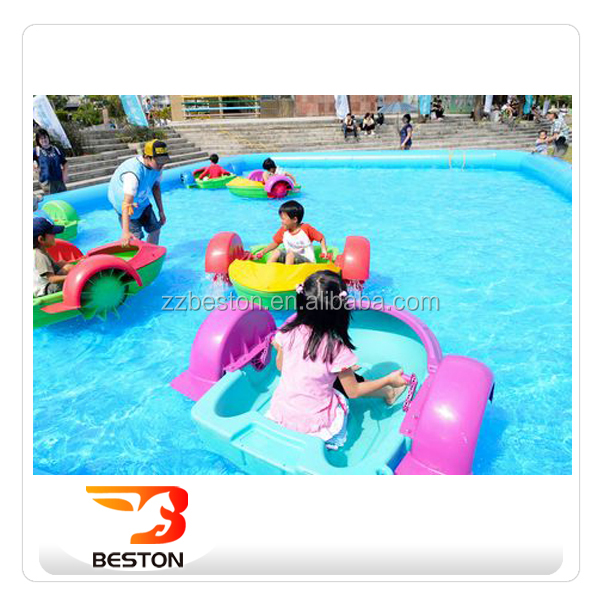 Beston Inflatable Water Aqua Paddle Boats Mini Pedal Boat For Kids