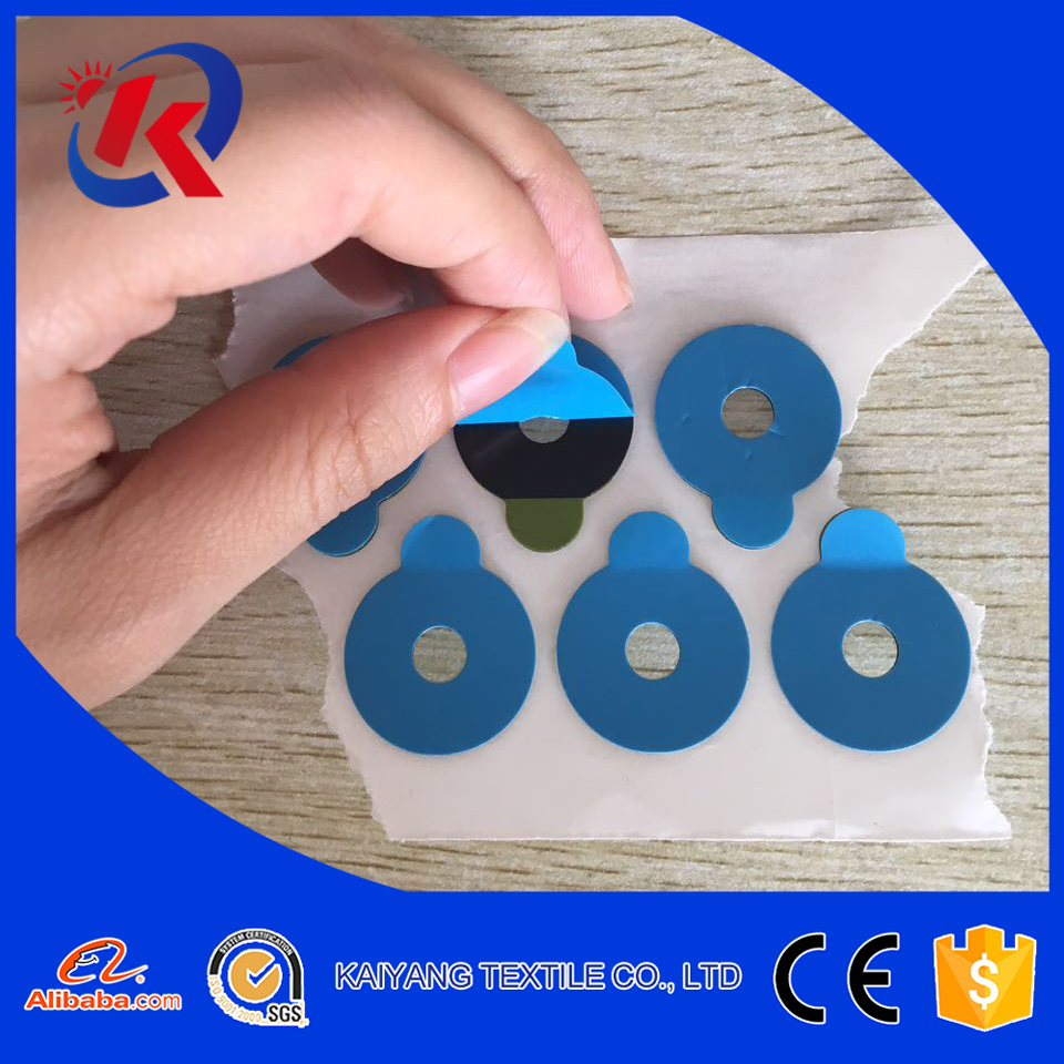 22cm adesive round lens blocking /edging pads round blue