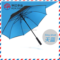 big size golf parasol for lady and women with fashion design and high quality umbrella factory