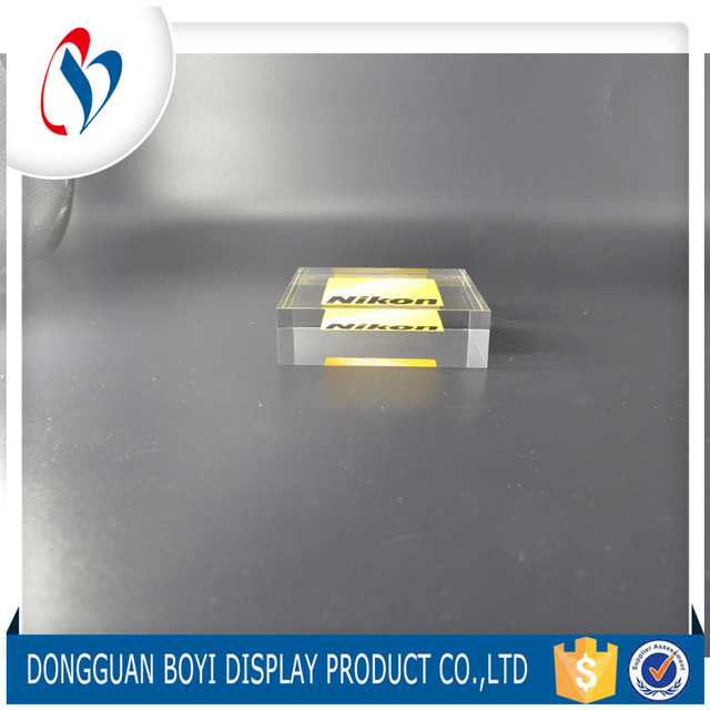 Chinesesupplier factory made simple brand name plaque