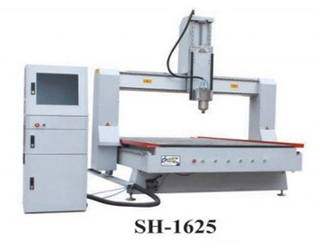 CNC Router Machine SH-1625 with X Y Working Area 1600x2500mm and Z Working Area 500mm