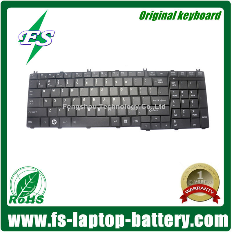Original notebook keyboards for Toshiba Satellite C660 C660D C665 L650 L650D L670 L670D L750 L750D L770 Series
