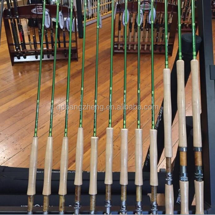 quality smooth medium action spey fly fishing rods with American Tacke Guide
