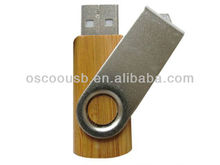 CE/ROSH wooden usb pendrive, swivel wooden usb memory drive