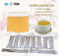 Supply high quality instant ginger tea with honey/lemon/red date