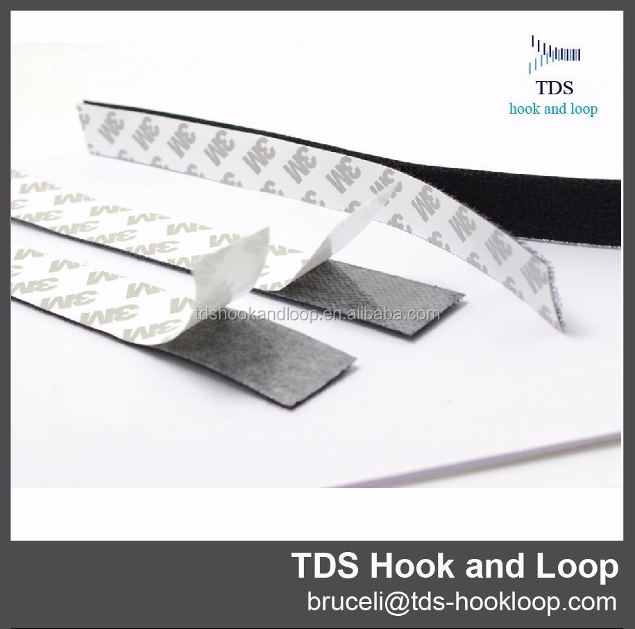 20 mm width double side adhesive hook and loop tape
