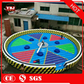 hot sale cheap inflatable jumping field game for adult