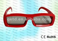circular polarized 3D eyewear for cinema and tv