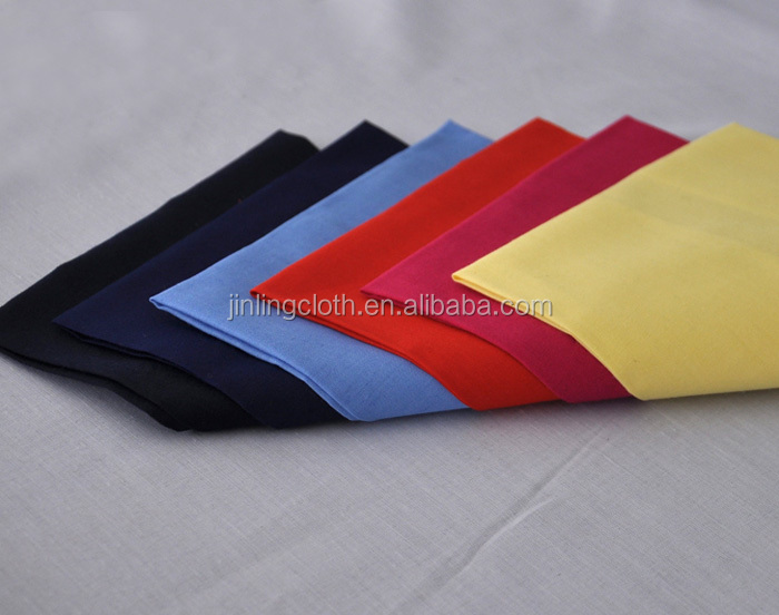 TC Poplin Cloth Dyed/Bleached/Printed Woven Polyester/Cotton Fabric