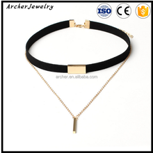 top selling lace wide choker 2016 gothic jewelry <strong>necklaces</strong> women for chocker <strong>necklace</strong> NJ-187
