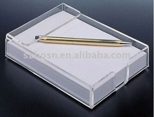 4x6 acrylic note pad paper holder