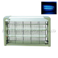 30W Aluminum mosquito catcher with two pieces T8 tube led lamp