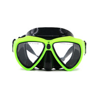 Silicone water sports gear equipment scuba diving mask